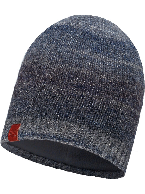 Buff Knitted & Polar Hat Dark Navy